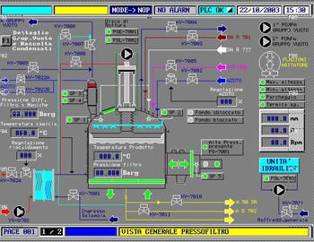Esempio pannello Bartec VGA